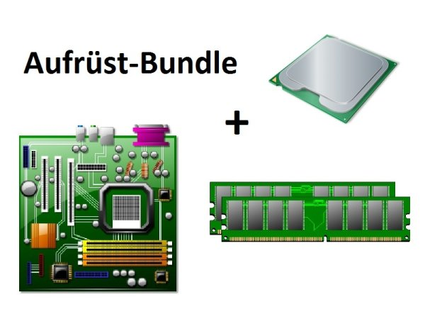 Aufrüst Bundle - MSI H81M-E33 + Intel i5-4570S + 8GB RAM #91393