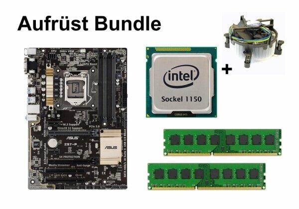 Aufrüst Bundle - ASUS Z97-P + Intel i3-4130 + 4GB RAM #92417
