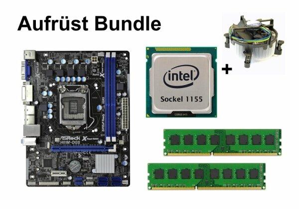 Aufrüst Bundle - ASRock H61M-DGS + Pentium G2030 + 8GB RAM #89858