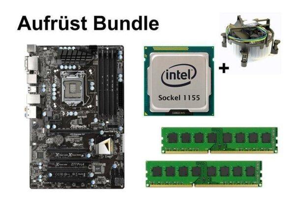Aufrüst Bundle - ASRock Z77 Pro4 + Intel i5-3570 + 4GB RAM #71171
