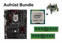 Aufrüst Bundle - ASUS Z97-PRO GAMER + Intel i3-4160T + 4GB RAM #86019