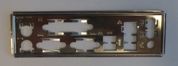 Gigabyte GA-G41M-ES2L  Blende - Slotblech - IO Shield      #27907