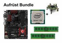 Aufrüst Bundle - MSI Z97 GAMING 5 + Intel i7-4771 + 6GB RAM #63491