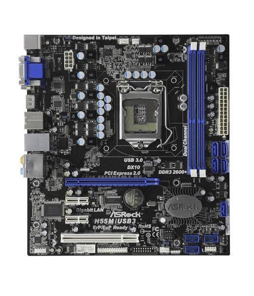 Aufrüst Bundle - ASRock H55M/USB3 + Intel i3-550 + 4GB RAM #96516