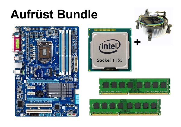 Aufrüst Bundle - Gigabyte GA-Z68P-DS3 + Pentium G870 + 16GB RAM #105732