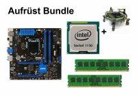 Aufrüst Bundle - MSI Z87M-G43 + Intel Core i7-4770S...