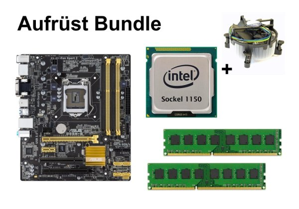 Upgrade Bundle - ASUS B85M-E + Celeron G1840 + 16GB RAM #76806