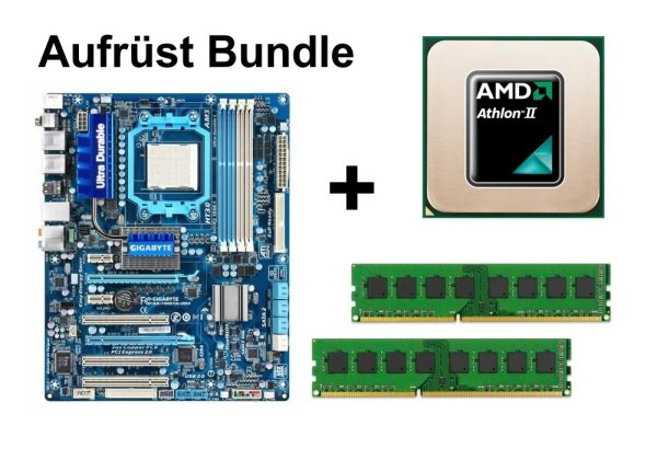 Aufrüst Bundle - Gigabyte 790XTA-UD4 + Athlon II X2 250 + 4GB RAM #102918