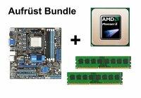 Aufrüst Bundle - ASUS M4A785T-M + AMD Phenom II X4 925 + 4GB RAM #123398