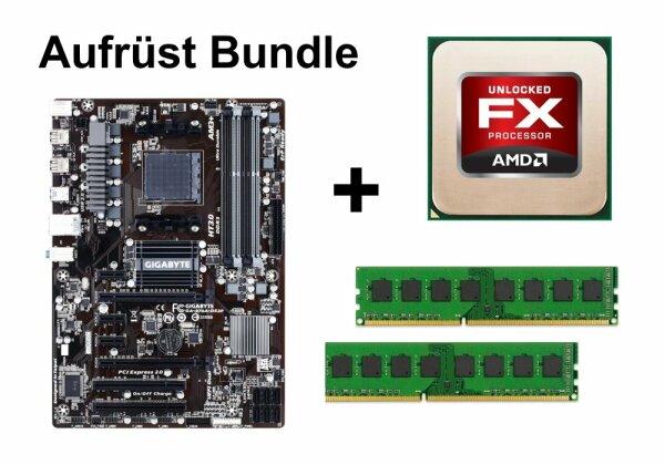 Aufrüst Bundle - Gigabyte 970A-DS3P + AMD FX-4100 + 16GB RAM #99591