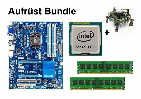 Aufrüst Bundle - Gigabyte H77-D3H + Xeon E3-1230 v2 + 4GB RAM #104199