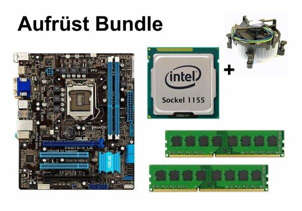 Aufrüst Bundle - ASUS P8B75-M LE + Intel i3-3225 + 4GB RAM #105991