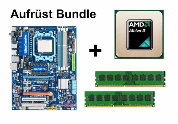 Aufrüst Bundle - Gigabyte GA-MA790XT-UD4P + Athlon II X4 630 + 8GB RAM #57095