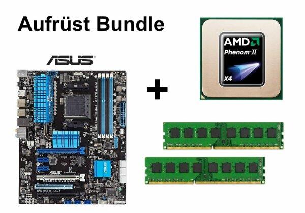 Aufrüst Bundle - ASUS M5A99X EVO + AMD Phenom II X4 960T + 4GB RAM #66824