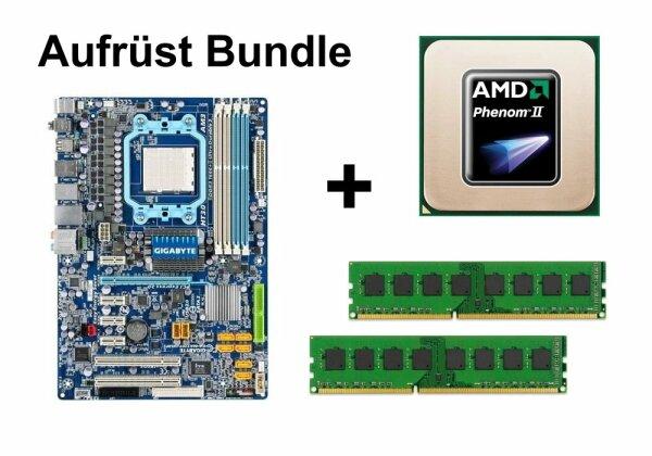 Aufrüst Bundle - Gigabyte MA770T-UD3P + Phenom II X6 1090T + 4GB RAM #69128