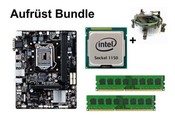 Aufrüst Bundle - Gigabyte B85M-D2V + Xeon E3-1225 v3 + 4GB RAM #94472
