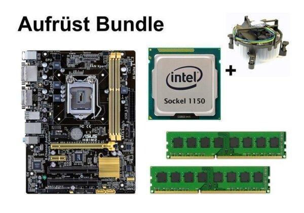 Upgrade Bundle - ASUS H81M2 + Pentium G3420 + 8GB RAM #63240