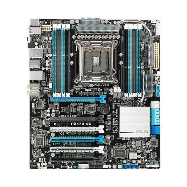 ASUS P9X79 WS Intel X79 Mainboard ATX Sockel 2011   #34825