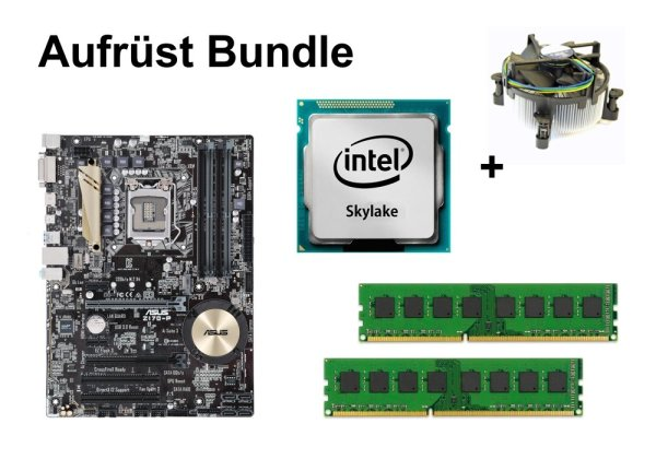 Aufrüst Bundle - ASUS Z170-P + Intel Core i7-6700K + 32GB RAM #111881