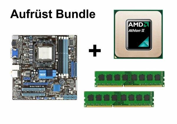 Aufrüst Bundle - ASUS M4A785T-M + AMD Athlon II X2 245 + 4GB RAM #123145