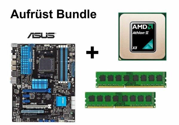 Aufrüst Bundle - ASUS M5A99X EVO + AMD Athlon II X3 440 + 8GB RAM #66570
