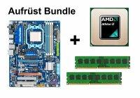 Aufrüst Bundle - Gigabyte GA-MA790XT-UD4P + Athlon II X4 635 + 4GB RAM #57098