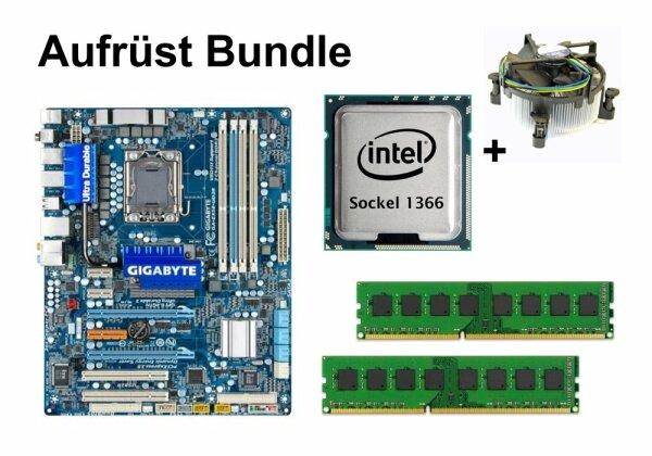 Aufrüst Bundle - Gigabyte EX58-UD3R + Intel i7-990X + 4GB RAM #62986