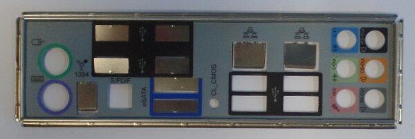 MSI P7N SLI Blende - Slotblech - IO Shield      #27659