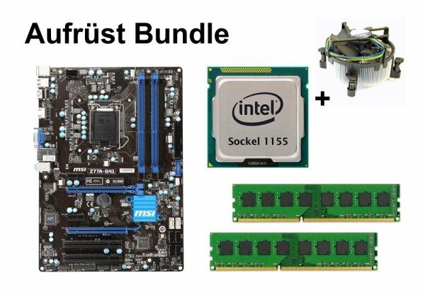 Aufrüst Bundle - MSI Z77A-G41 + Intel i5-3450 + 4GB RAM #101387