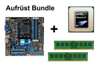 Aufrüst Bundle - ASUS M5A78L-M/USB3 + Phenom II X4 955 + 4GB RAM #58891