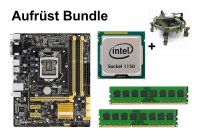 Aufrüst Bundle - ASUS B85M-G + Intel i7-4771 + 4GB RAM #72972