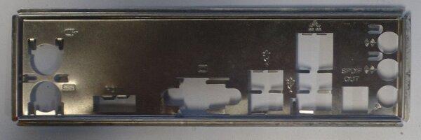 ASUS P5G41T-M USB3 Blende - Slotblech - IO Shield   #26636