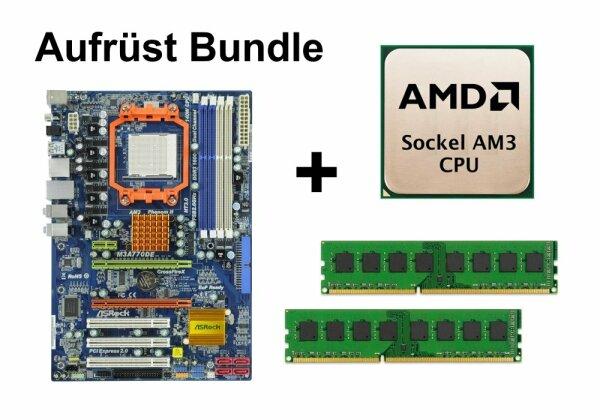 Aufrüst Bundle - ASRock M3A770DE + Phenom II X2 555 + 8GB RAM #95500