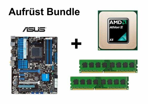 Aufrüst Bundle - ASUS M5A99X EVO + Athlon II X3 455 + 16GB RAM #55820