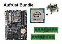 Aufrüst Bundle - ASUS Z170-P + Intel Core i5-7400 +...