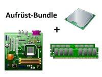 Aufrüst Bundle - MSI H81M-E33 + Intel i5-4690S + 4GB...