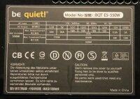 Be Quiet Straight Power E5 550W (E5-550W BN036) Netzteil...