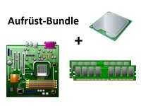 Aufrüst Bundle - MSI H81M-E33 + Intel i5-4690T + 4GB...