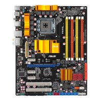 ASUS P5QC Intel P45 Mainboard ATX Sockel 775   #28437