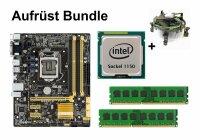 Aufrüst Bundle - ASUS B85M-G + Intel i7-4790S + 4GB...